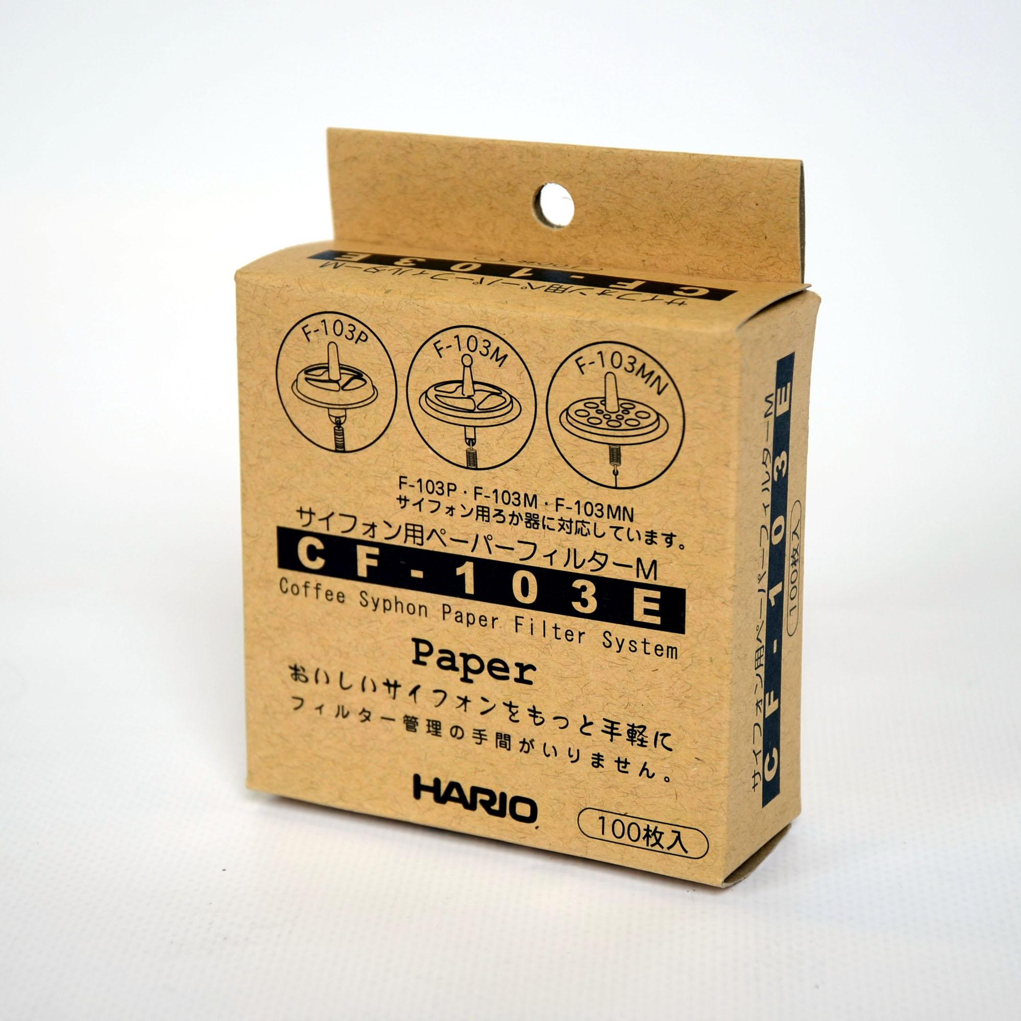 HARIO – Papierfilter für Kaffee-Syphon