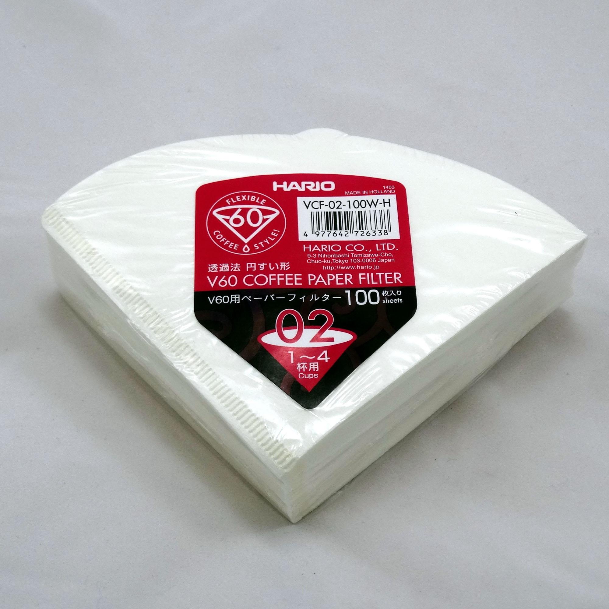 HARIO – V60 Papierfilter für Filterhalter 02