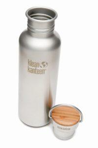 Klean Kanteen - Reflect - gebürsteter Edelstahl 800ml, Bambus Deckel