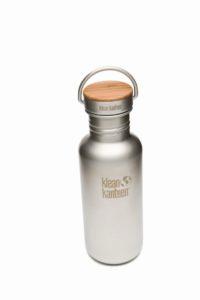 Klean Kanteen - Reflect - gebürsteter Edelstahl 532ml, Bambus Deckel