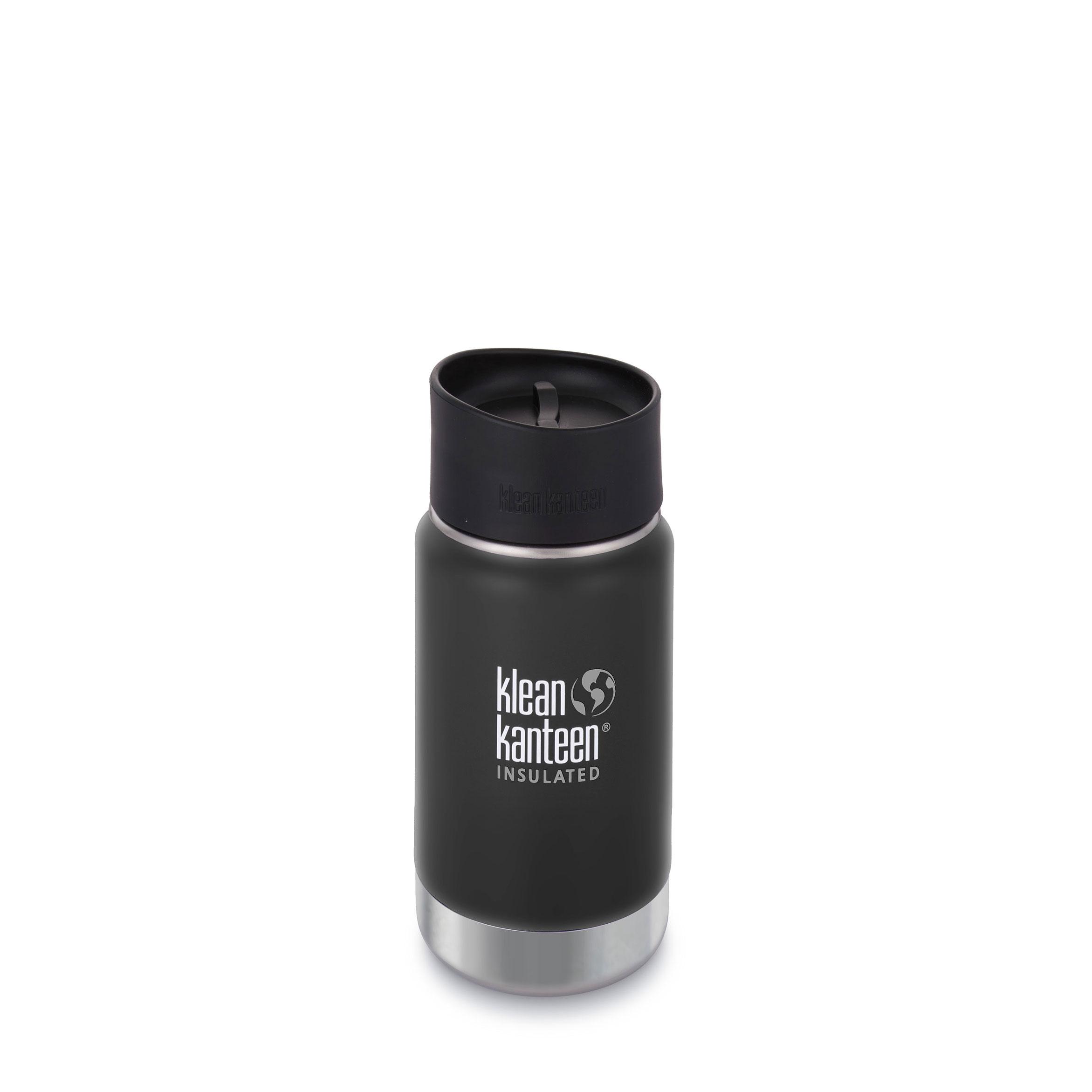 Klean Kanteen - Wide - vakuumisoliert 355ml schwarz