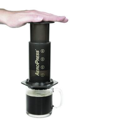 AeroPress Kaffee-Zubereiter inkl. Zubehör